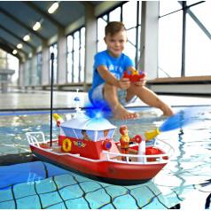 Dickie člun na dálkové ovládání RC Požárník Sam člun Titan 1:16
