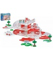 WADER Kid Cars 3D Nemocnice plast 4,8m v krabici 59x40x15cm 12m+