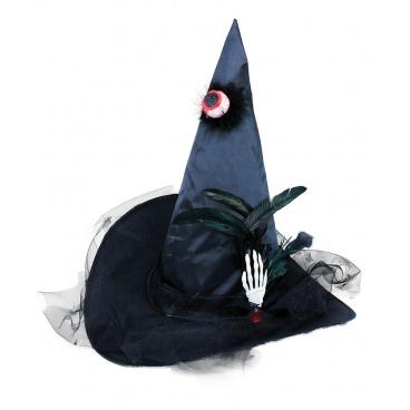 Rappa Klobouk čarodějnický s okem pro dospělé