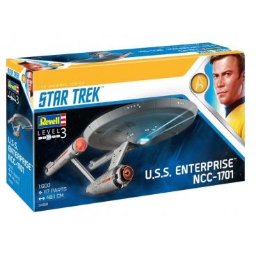 Revell Plastic ModelKit Star Trek 04991 - U.S.S. Enterprise NCC-1701 (TOS) (1:600)