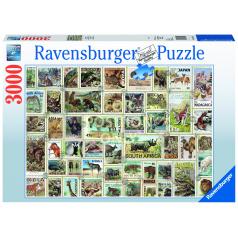 Ravensburger puzzle Zvířecí známky 3000 dílků
