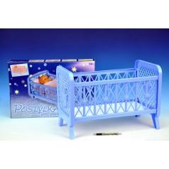 Směr Postýlka pro panenky bez soupravy plast 32x47x26cm v krabici