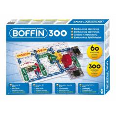 Boffin Stavebnice Boffin 300 elektronická 300 projektov na batérie 60ks v krabici