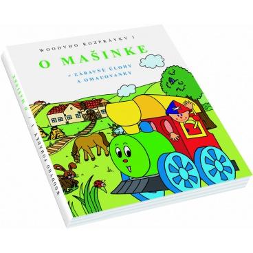 """Woody Knížka """"O Mašince"""" - 1.Díl, 2.verze - slovenština"""