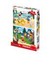 Dino dětské puzle  WD Mickey sportuje 2x77D