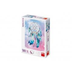 Dino Puzzle Lapač snů 500 XL relax 47x66cm v krabici 32x23x7cm