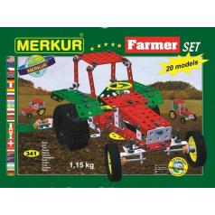 Merkur Farmer Set, 341 dílů, 20 modelů