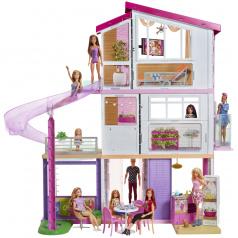 Mattel Barbie DŮM SNŮ SE SKLUZAVKOU FHY73