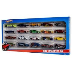 Mattel Hot Wheels 20KS ANGLIČÁK ASST