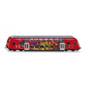 SIKU Super 1791 - dvouposchodový vlak