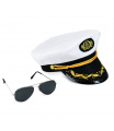 Rappa Sada kapitán čepice s brýlemi pro dospělé