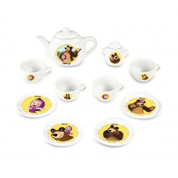 Smoby Kávový porcelánový set Máša a medvěd