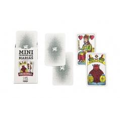 Hrací karty, s.r.o. Mariáš MINI jednohlavý společenská hra karty v papírové krabičce 4,5x7cm