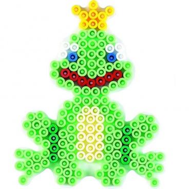 HAMA zažehlovací korálky - MIDI Podložka Žabka