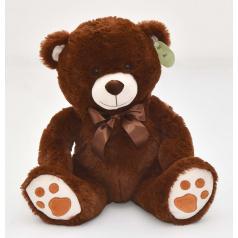 mac toys Medvídek sedící hnědý, 40 cm