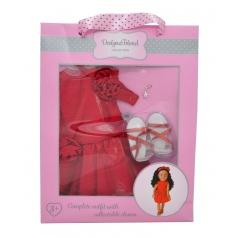 Mac Toys Šaty pro panenky Designa