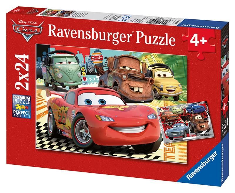 Ravensburger dětské puzzle Cars noví přátelé     2x24p
