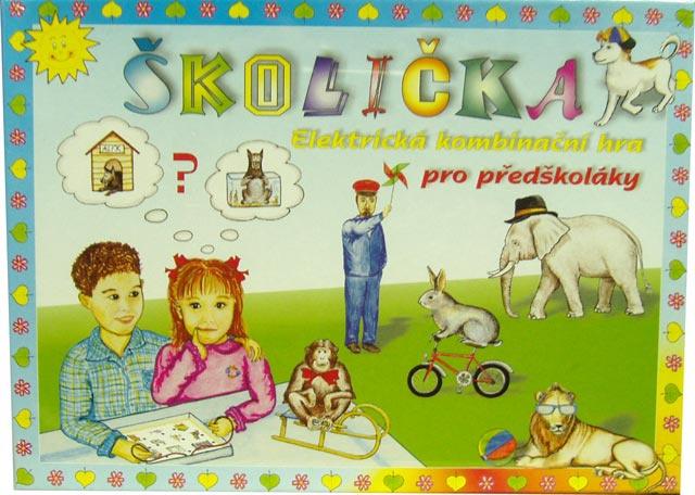 Svoboda elektronická hra Školička