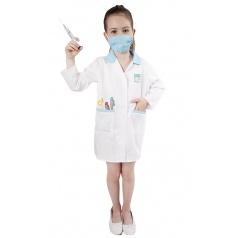Dětský karnevalový kostým doktorka, velikost M