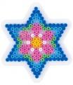 HAMA zažehlovací korálky - MIDI podložka malá hvězda