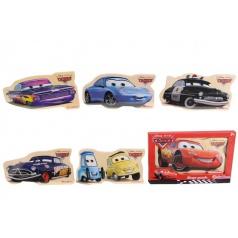 Puzzle Disney Cars, 8d, 30x17cm, 4 druhy
