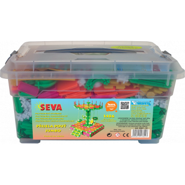 Seva Přijela pouť Jumbo 1486ks v plastovém boxu 39x17x30cm