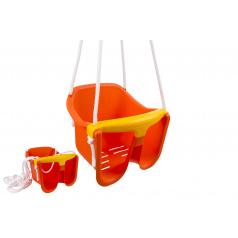 Chemoplast Hojdačka Baby oranžová plast 33x30x28cm nosnosť 25kg v sieťke 12m +