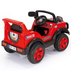 DOLU Elektrické auto NITRO pro děti s klaksonem, 6V