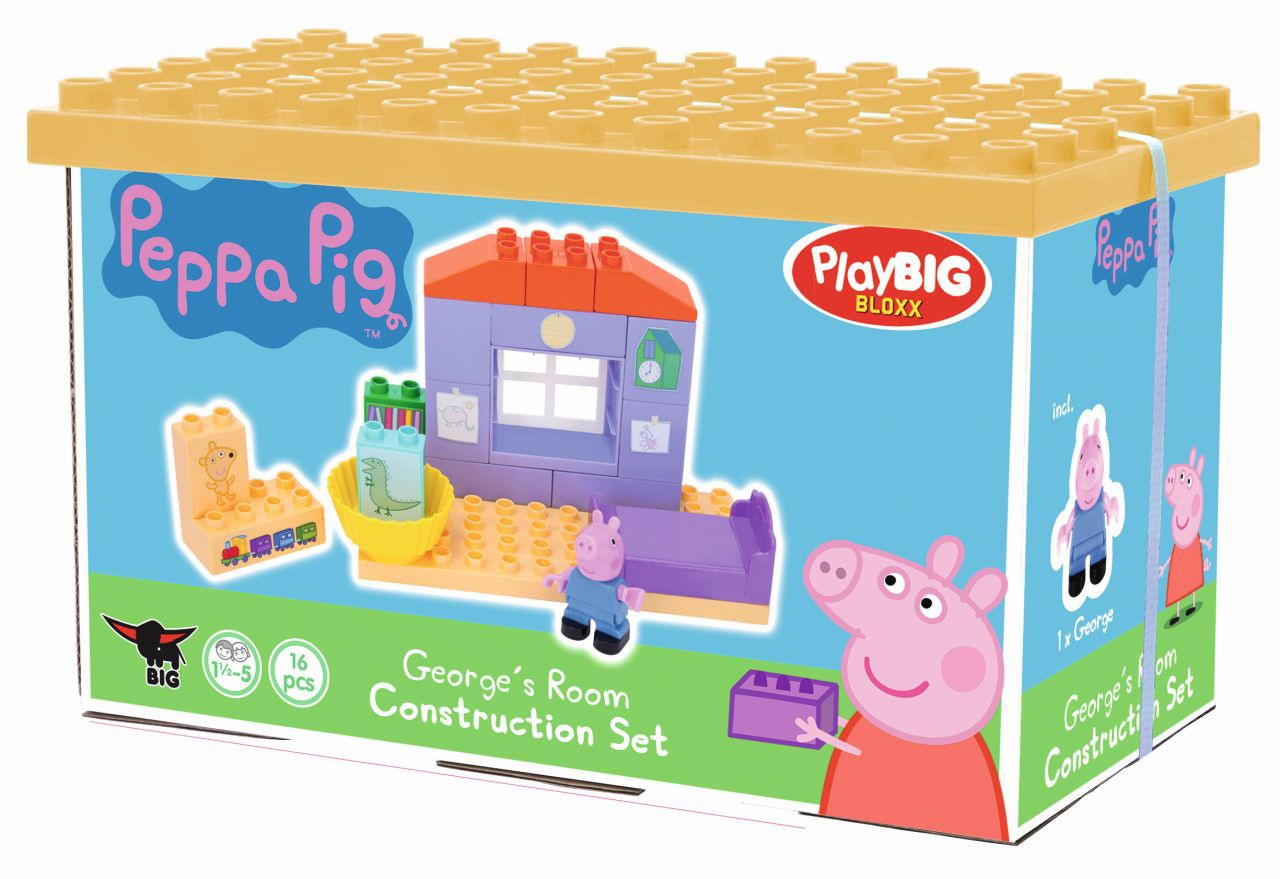 PlayBig BLOXX  Peppa Pig Zákl. set, 4 druhy