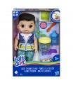 Hasbro Baby Alive Tmavovlasý chlapec s mixérem