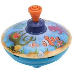Káča hrající, mořský svět, průměr 13 cm