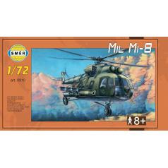Směr plastikový model vrtulník Mill Mi-8 WAR 1:72