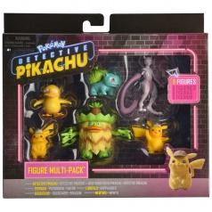 Götz Pokémon figurky detektiv Pikachu multipack (6-Pack)