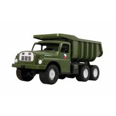 Dino Auto Tatra 148 plast 73cm v krabici - khaki vojenská Tatrovka