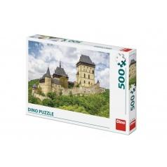 Dino Puzzle hrad Karlštejn 47x33cm 500 dílků v krabici 33,5x23x3,5cm