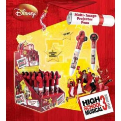 "Propiska s promítačkou ""High School Musical"". Minimální odběr display 20 ks"