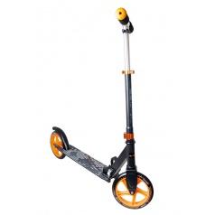 Authentic Sports Koloběžka skládací (černá/oranžová), průměr kol 200mm
