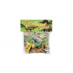 Teddies Dinosauři  plast 5cm v sáčku 20x22cm