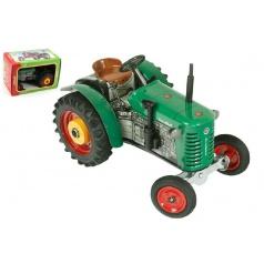 Kovap Traktor Zetor 25A zelený na kľúčik kov 15cm 1:25 v krabičke Kovap