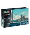 Revell Plastic ModelKit loď 06822 - Musashi (1:1200)