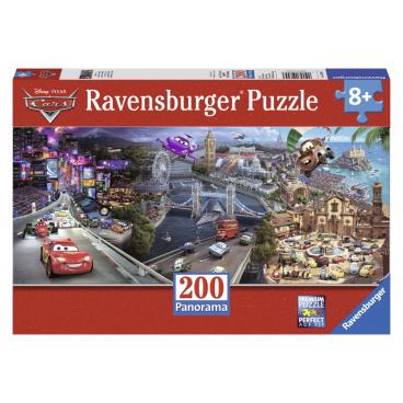 Ravensburger puzzle Disney Auta   Panoráma 200d