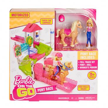 Mattel Mini Barbie na cestách Mini Závodiště - herní set
