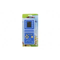 Teddies Digitální hra Brick Game Tetris hlavolam plast 18cm na baterie asst 4 barvy