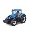 Bburago Traktor Fendt 1050 Vario/New Holland kov/plast 13cm 2 druhy v krabičce 15x11x8cm