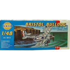 Směr modely plastové BRISTOL Bulldog 1:48