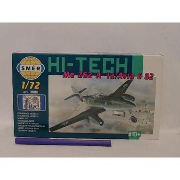 Směr modely plastové MESSERSCH. Me262A Hi-Tech 1:72