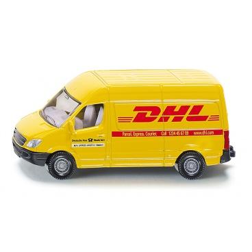 SIKU Blister - Poštovní dodávka Mercedes Sprinter