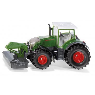 SIKU Farmer - traktor Fendt 942 Vario s předním sekacím nástavcem 1:50