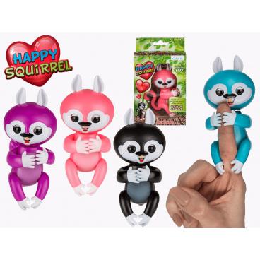 Mac Toys Veselá interaktivní veverka