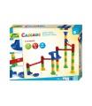 Kuličková dráha 34ks 10 kuliček plast v krabici 35x27x6cm